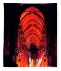 Winter Solstice Concert Fleece Blanket