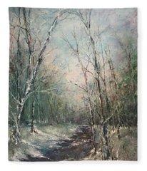Winter Sojourn Fleece Blanket