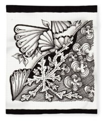 Winter Spring Summer 'n Fall Fleece Blanket