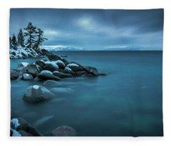 Winter Storm By Brad Scott Fleece Blanket