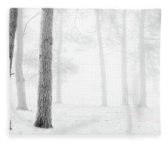 Winter Woodland Fleece Blanket