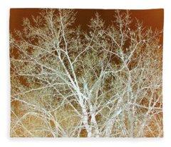 Winter's Dance Fleece Blanket