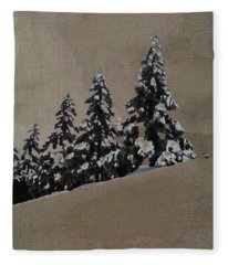 Winters Eve Fleece Blanket