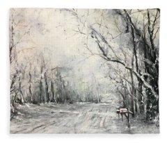 Dee Street Series Winter Wonderland Fleece Blanket
