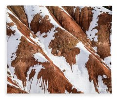 Winter's  Kiss - Bryce Canyon   Fleece Blanket