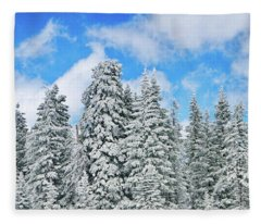 Winterscape Fleece Blanket