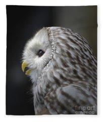 Wise Old Owl Fleece Blanket