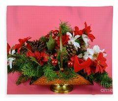 Wishes Of Joy For You Fleece Blanket