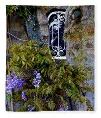Wisteria Window Fleece Blanket