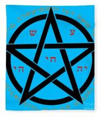 Witchcraft Concept  Fleece Blanket