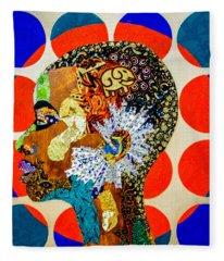 Without Question - Danai Gurira II Fleece Blanket