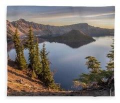Wizard Island Beauty Fleece Blanket