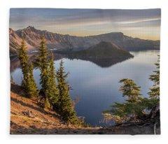 Wizard Island Beauty Fleece Blanket