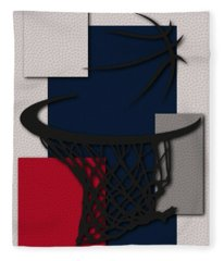 Wizards Hoop Fleece Blanket