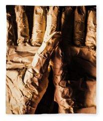 Wizened Horror Hands Fleece Blanket