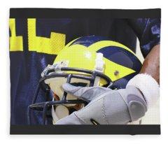 Wolverine Cradles Helmet Fleece Blanket