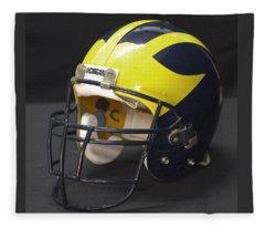 Wolverine Helmet From The 1990s Fleece Blanket