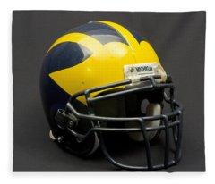 Wolverine Helmet Of The 2000s Era Fleece Blanket