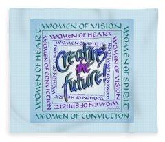 Women Of Vision Fleece Blanket