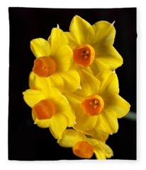 Wonderful Jonquils Fleece Blanket