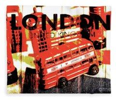 Wonders Of London Fleece Blanket