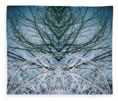 Woodland Ghostdancer Fleece Blanket