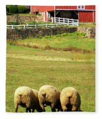 Wooly Bully Fleece Blanket