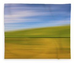 Work Collected X Fleece Blanket