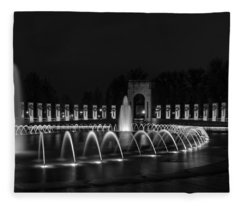 World War II Memorial Fleece Blanket