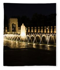 World War Memorial Fleece Blanket