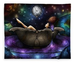 Worlds Away Fleece Blanket