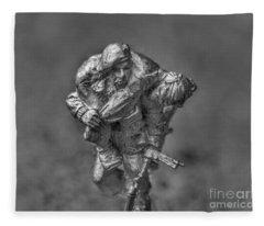 Wounded Warrior Fleece Blanket