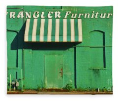 Wrangler Furniture Fleece Blanket