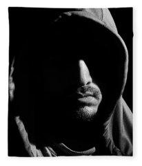 Wrapped In Shadows Fleece Blanket