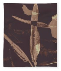 Writers Guild Abstract Fleece Blanket
