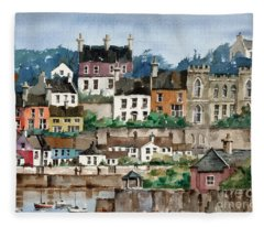 F 762   Kinsale Harbour, Cork Fleece Blanket