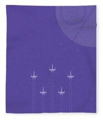X-wing Attack Fleece Blanket