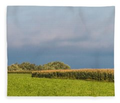 Farmer's Field Fleece Blanket