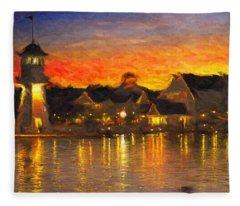 Yacht Club Fleece Blanket