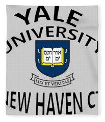 Yale University New Haven Connecticut  Fleece Blanket