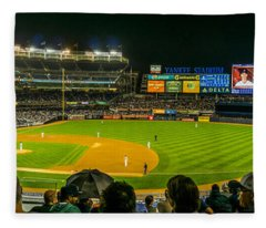 Yankee Stadium Fleece Blanket