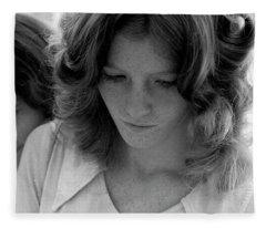 Yearbook Signing, 1972, Part 2 Fleece Blanket