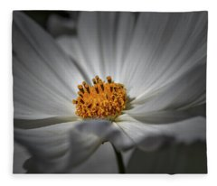 Yellow Hart #h8 Fleece Blanket