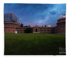 Yerkes Observatory Williams Bay Fleece Blanket