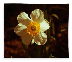 Yesteryear Daffodil Fleece Blanket
