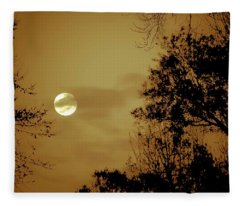 Yesteryears Moon Fleece Blanket