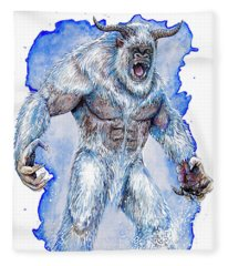 Yeti Fleece Blanket