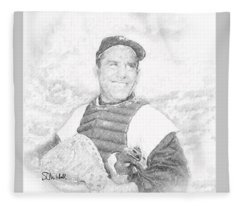 Yogi Berra Fleece Blanket
