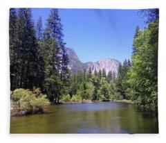 Yosemite 11 Fleece Blanket