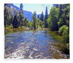 Yosemite 14 Fleece Blanket